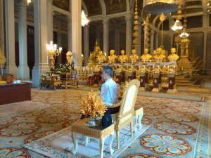 Son Altesse Royale la Princesse Samdech Sisowath Pongneary Monipong présidant les cérémonies du Pchum Ben lundi 22 septembre 2014