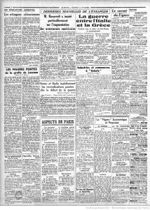 Figaro 1 novembre 1940